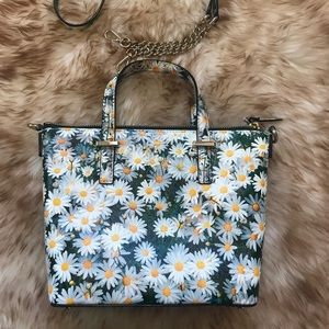 Kate Spade Cedar Daisy Crossbody Handbag EUC